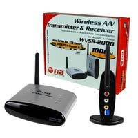 AUDIOP WVSR2000 Nippon Wireless A-V Transmitter and Receiver