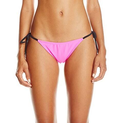 MINKPINK Womens Shocking Side Tie Bikini Bottom