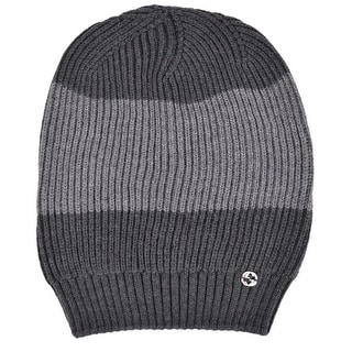 5531147fc0e3d0 Shop Gucci Men's 310777 Grey Wool Colorblock Interlocking GG Slouchy Beanie  Hat - Free Shipping Today - Overstock - 11982612