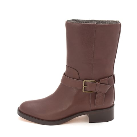 Cole Haan Womens Piercesam Closed Toe Mid-Calf Fashion Boots - 6