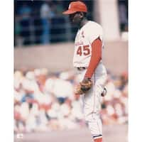 8 x 10 in. Signed Gibson Bob St. Louis Cardinals Unsigned Glossy