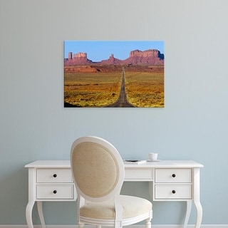 Easy Art Prints Chuck Haney's 'Highway 163' Premium Canvas Art