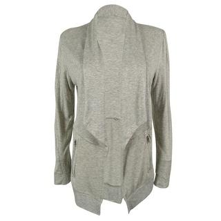 INC International Concepts Women's Shawl Collar Cardigan