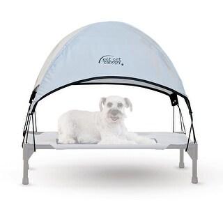"""K&H Pet Products Pet Cot Canopy Medium Gray 25"""" x 32"""" x 23"""""""