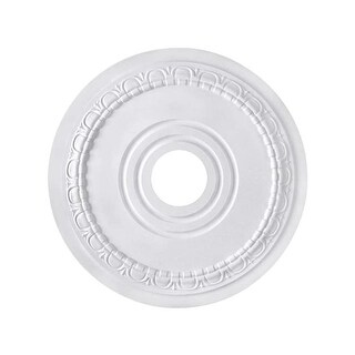 "Canarm FM-40 Egg & Dart Ceiling Medallion With 3-1/2"" Center Opening"