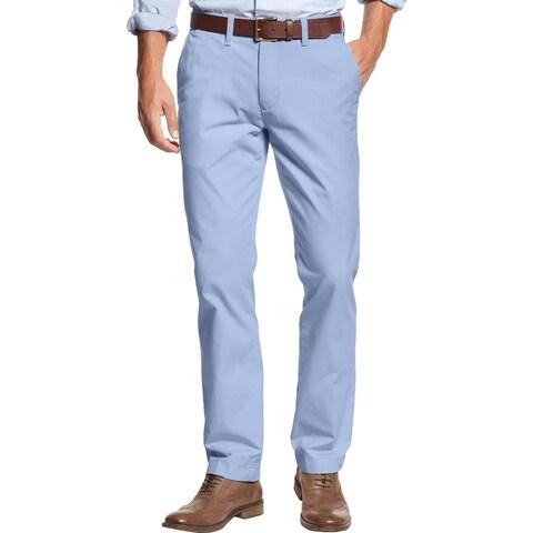 Tommy Hilfiger Mens Khaki Pants Colored Custom Fit