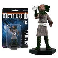 "Doctor Who Sea Devil 4"" Resin Figure - multi"