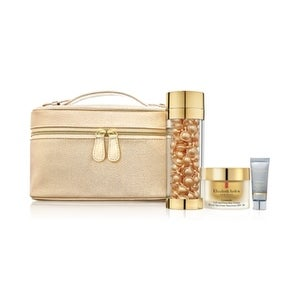 Elizabeth Arden Ceramide Capsules Gift Set, Lift & Firm Youth Restoring Solutions: 90 Capsules, Day Cream, Skin Renewal Booster