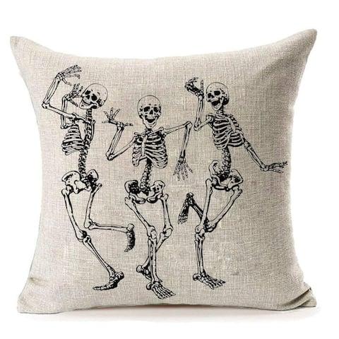 Halloween Skull Pillow Covers