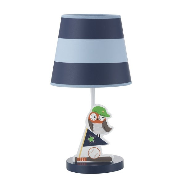 Bedtime Originals Baby League Blue Owl Sports Nursery Lamp With Shade Bulb Free Shipping On Orders Over 45 23613060
