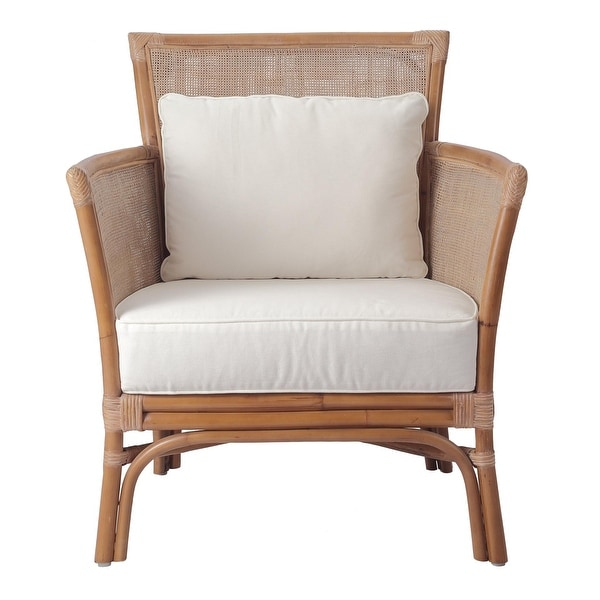 Tatum Rattan Accent Chair. Opens flyout.