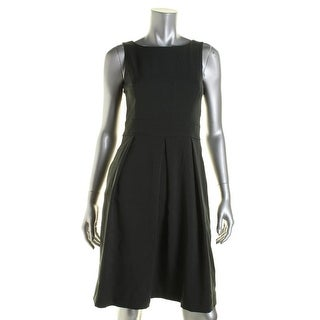 Anne Klein Womens Sleeveless Lined Wear to Work Dress