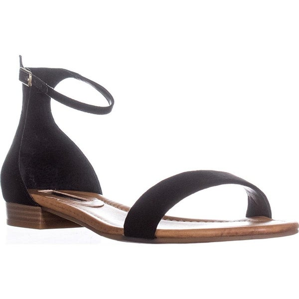 INC International Concepts Womens Yaffa Fabric Open Toe Casual Ankle Strap Sa... - 8.5