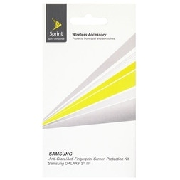 Ventev Anti-Glare Screen Protectors for Samsung Galaxy S3 SPH-L710 - Clear