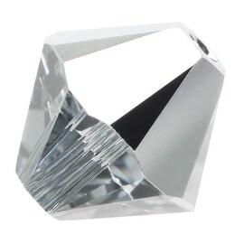 Swarovski Crystal, 5328 Bicone Beads 4mm, 24 Pieces, Crystal Light Chrome