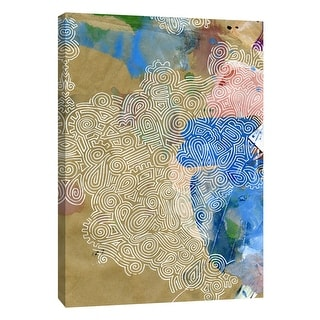 "PTM Images 9-105523  PTM Canvas Collection 10"" x 8"" - ""Lost in Transit 6"" Giclee Patterns and Designs Art Print on Canvas"
