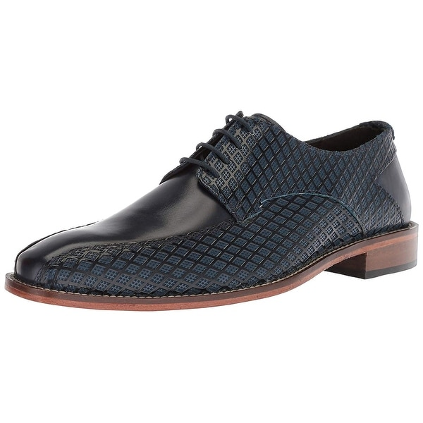 Stacy Adams Mens Gianluca Leather Lace Up Casual Oxfords