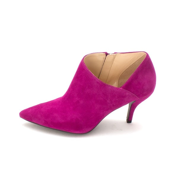 GUESS Womens Glori Leather Pointed Toe Classic Pumps - 6