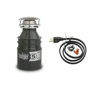 InSinkErator Badger 5 Badger 1/2 HP Garbage Disposal with Soundseal Technology