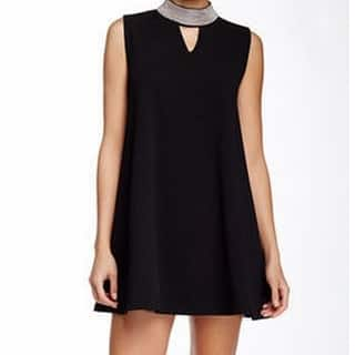 Gracia NEW Black Womens Size Small S Beaded Mock-Neck Tunic Dress|https://ak1.ostkcdn.com/images/products/is/images/direct/fe641f6a7374bf198a1fd8c86a43bc242bfe74fd/Gracia-NEW-Black-Womens-Size-Small-S-Beaded-Mock-Neck-Tunic-Dress.jpg?impolicy=medium