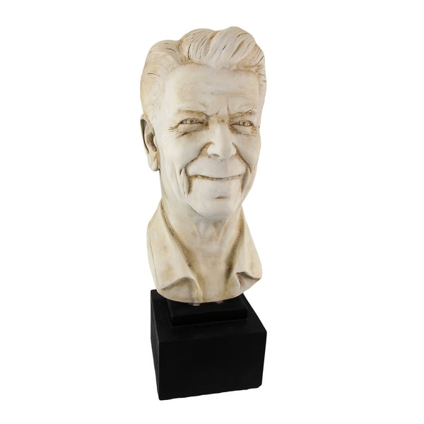 Ronald Reagan Bust 17 In. Plaster - 17 X 6 X 8 inches