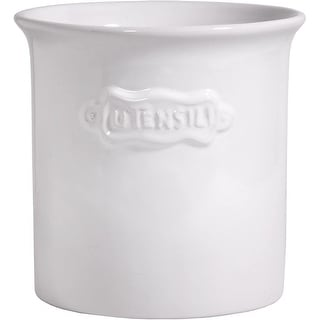 Palais Essentials Ceramic Utensil Crock Utensil Holder