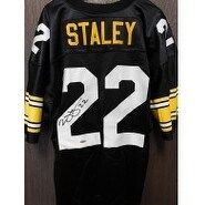 Signed Staley Duce Pittsburgh Steelers Duce Staley Pittsburgh Steelers Replica Jersey Size XLarge L