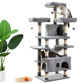 Link to Large Cat Tree Condo with Sisal Scratching Post Perches Houses Hammock Similar Items in Cat Furniture