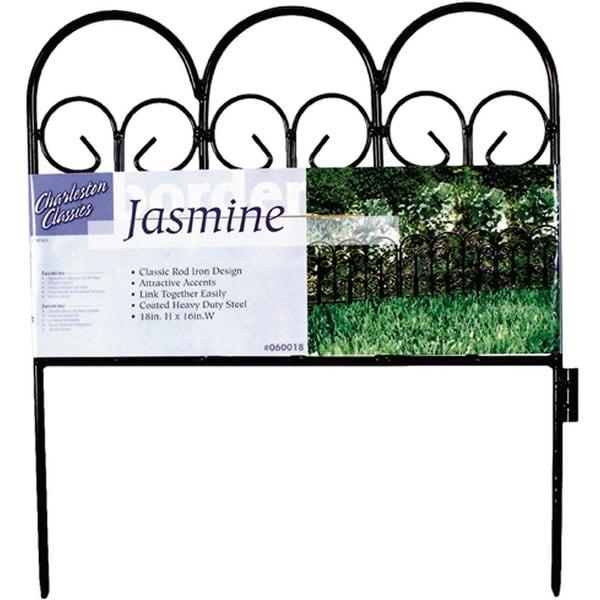 "Garden Zone 060018 Jasmine Charleston Classic Landscape Border Fence, 18"" x 16"""