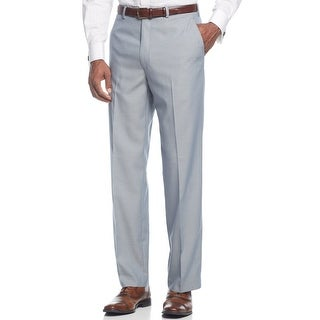 Sean John Big and Tall Dress Pants 42/32 Light Blue Flat Front Suit Separates