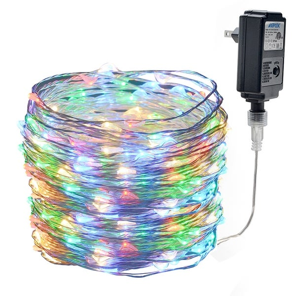 33ft 100 LED Waterproof Copper Wire Fairy Starry String Lights Decorative  Rope Lights RGB