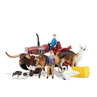 Breyer 1:32 Stablemates Tractor Playset