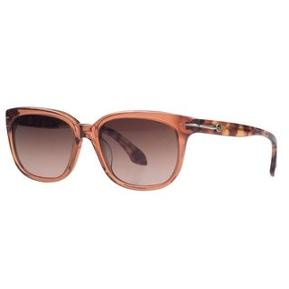 Calvin Klein CK 4219/S 286 Clear Burnt Orange Wayfarer Sunglasses