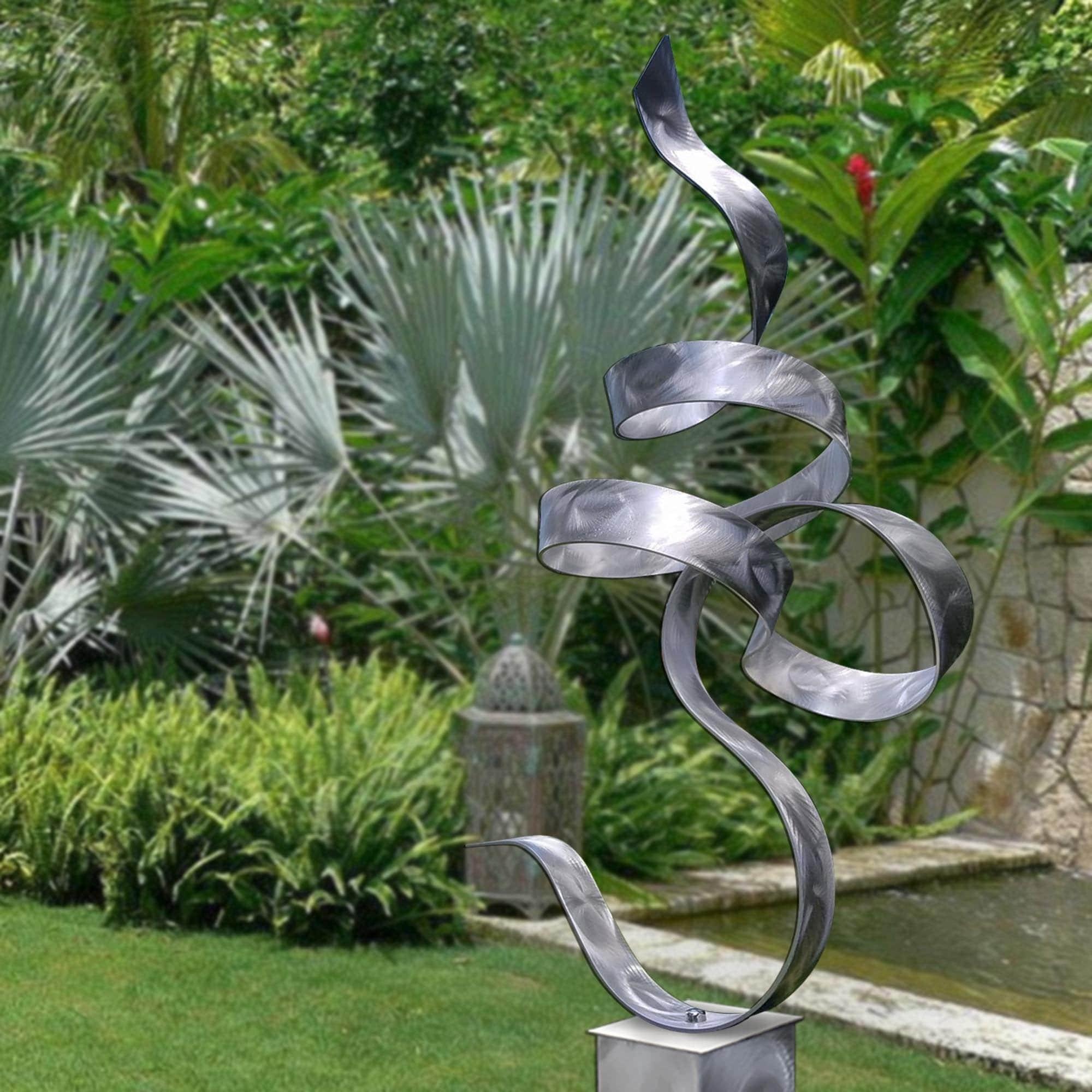 Shop Statements2000 Modern Metal Sculpture Indoor Outdoor Garden