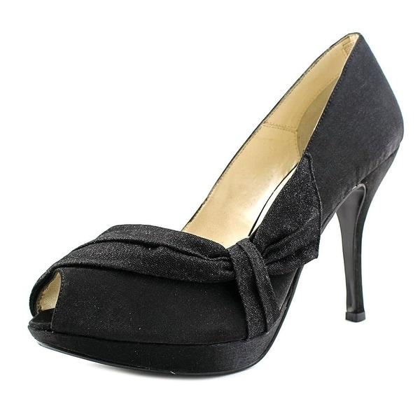 Caparros Womens ODESSA Peep Toe Platform Pumps