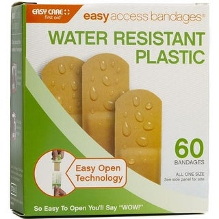 """""""Adventure Medical Kits Easy Access Bandages - Plastic - 3-4 Inch x 3 Inch - 60 ct Easy Access Bandages- Plastic - 3 4 Inch x 3"""