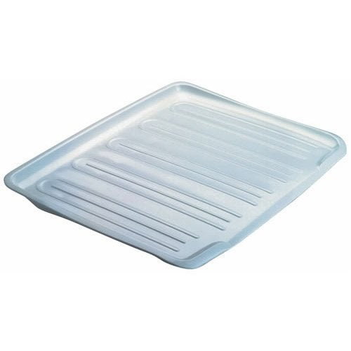 Rubbermaid Side Dish Drainer Tray Side 14-4/5 in. x 18 in. White