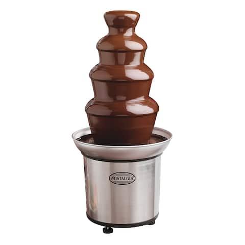 Nostalgia NCFF986SS 4-Tier Chocolate Fountain