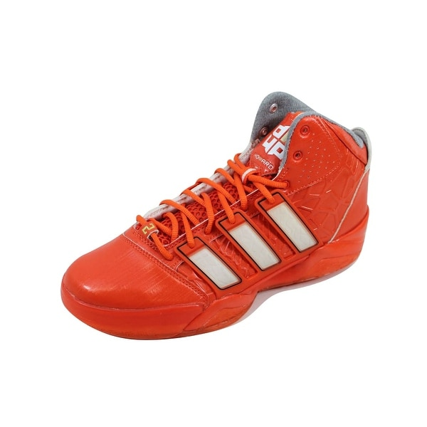 Adidas Men's AdiPower Howard 2 Orange/White-Gold G48898 Size 9