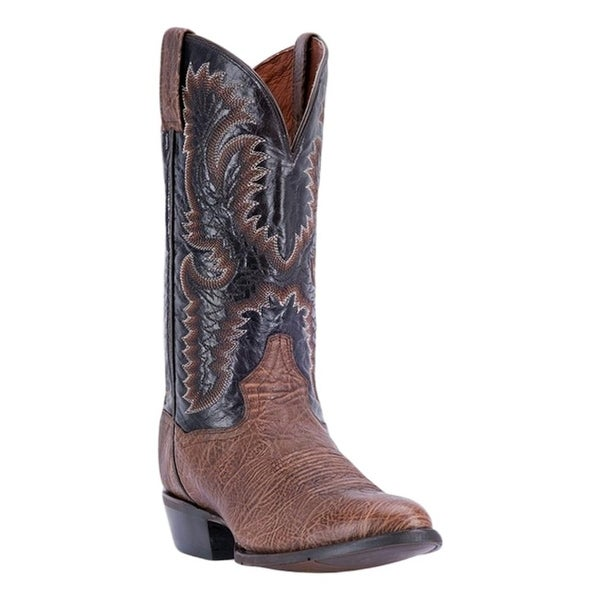 Dan Post Western Boots Mens Moses R Toe ROM Outsole Chocolate