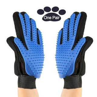 Link to Pet Grooming Gloves Brush Dog Cat Hair Remover Mitt Massage Deshedding 1 Pair - M Similar Items in Dog Grooming