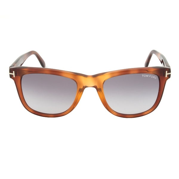 93cd1acc3248 Shop Tom Ford Leo Square Sunglasses FT0336 52B 52 - Free Shipping ...