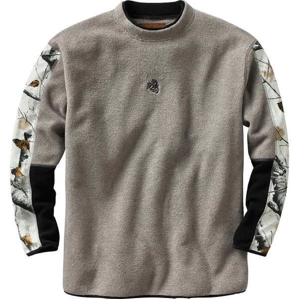 Legendary Whitetails Men's Big Game Field Camo Sherpa Crew