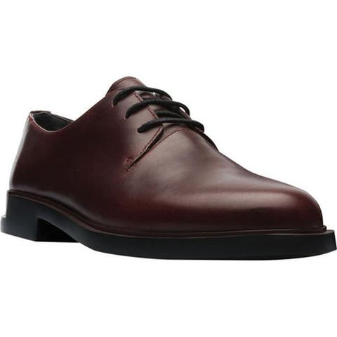 Camper Women's Iman Oxford Burgundy Smooth Leather