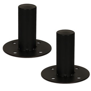 "2 Goldwood Sound GTH-44 Speaker Cabinet Metal Pole Mounts 1 3/8"" Stand Mounts"