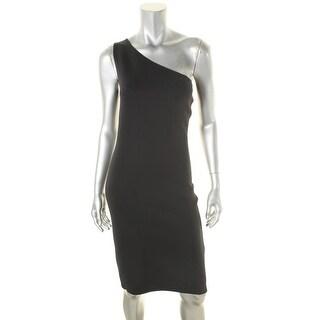 Helmut Lang Womens Cocktail Dress Asymmetric Pullover - XS