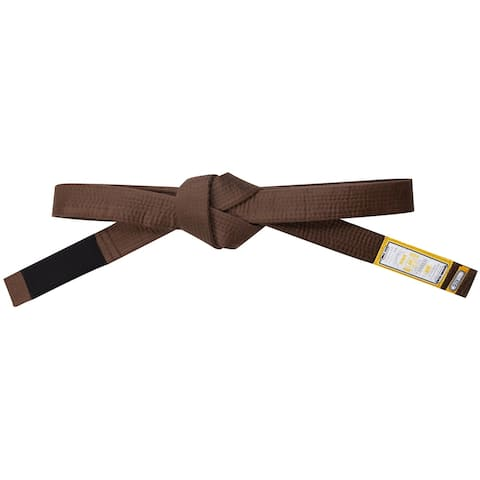 Scramble Tanren Brazilian Jiu-Jitsu Rank Belt - Brown