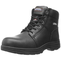 Skechers For Work Men's Workshire Relaxed Fit Work Steel Toe Boot,Black,9 W Us