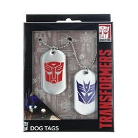 Transformers Autobot & Decepticon Logo Dog Tags