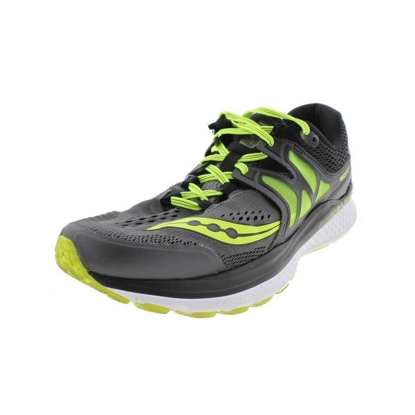 Saucony Mens Hurricane ISO 3 Running Shoes Everun ISOFit